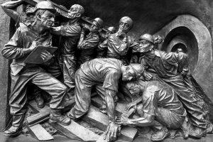 """""""… denn man sah nichts als Elend …"""" – der Schachtbruch auf der """"Neuen Fundgrube"""" in Lugau 1867 @ Terra Mineralia, Freiberg"""