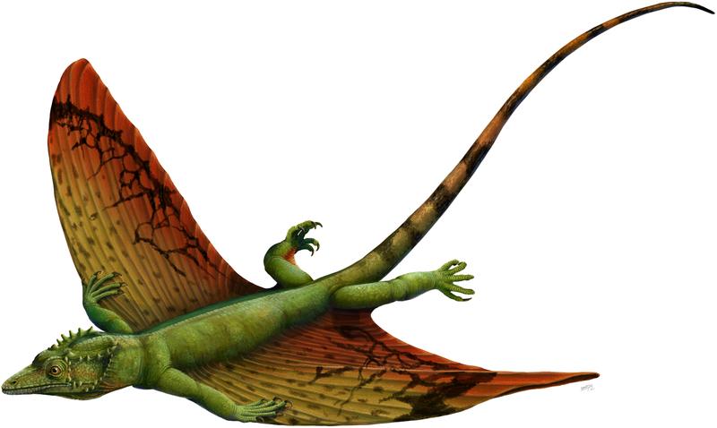 Lebendrekonstruktion von Weigeltisaurus